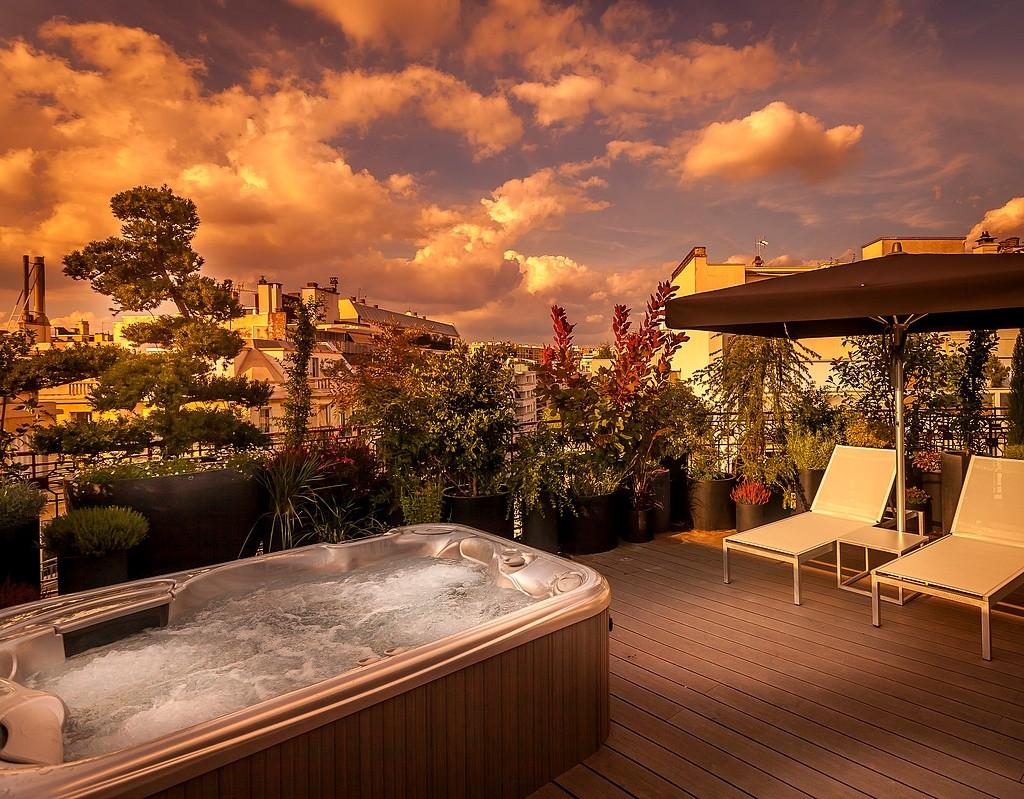 hotel privatif paris felicien by elegencia jacuzzi privé