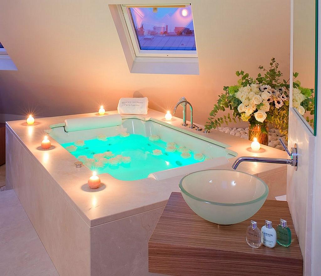 hotel privatif paris lumen paris louvre jacuzzi romantique