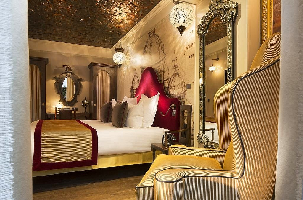 hotel paris privatif da vinci spa chambre