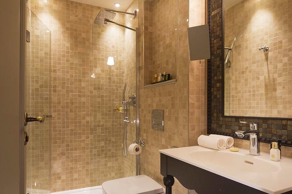 hotel paris privatif da vinci spa douche