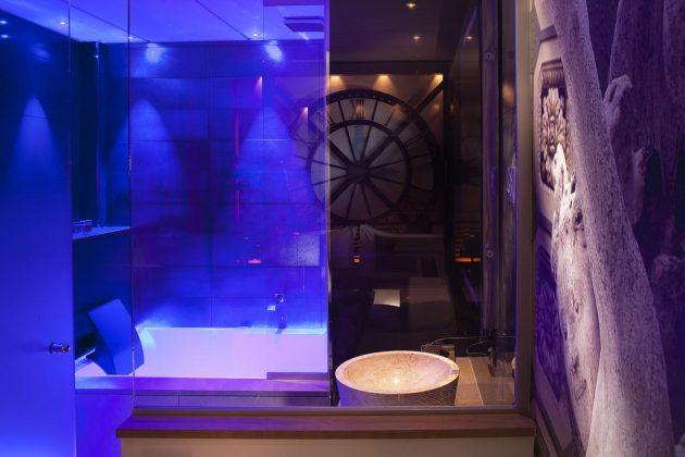 hotel paris privatif secret de paris baignoire spa relaxation couple