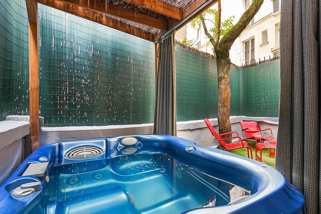 hotel privatif paris five hotel jacuzzi privatise