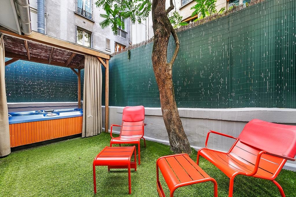 hotel privatif paris five hotel jacuzzi prive