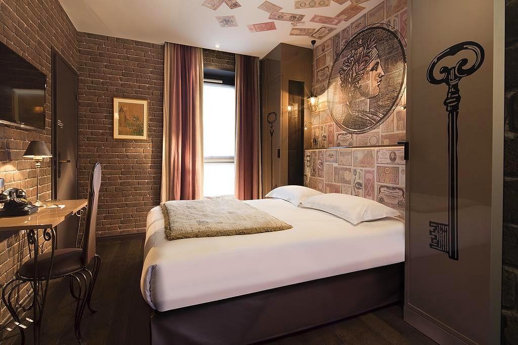 hotel privatif paris vice versa chambre theme argent