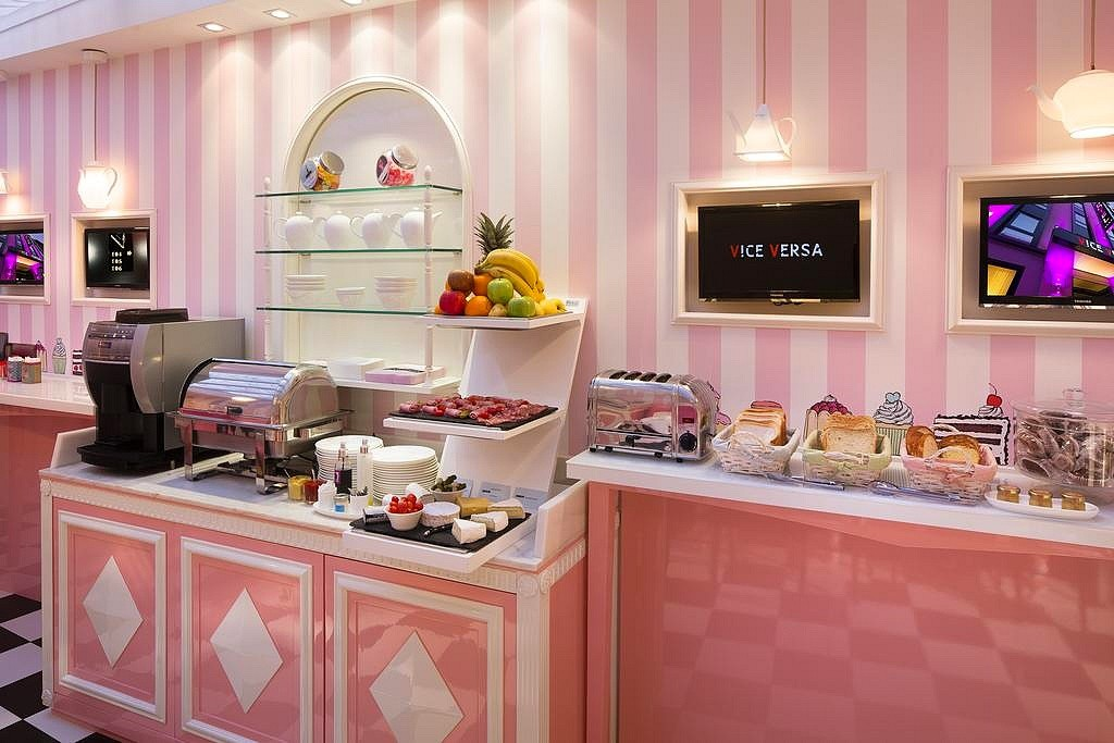 hotel privatif paris vice versa manger cupcake
