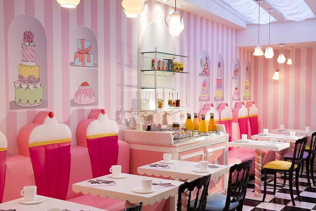 hotel privatif paris vice versa theme cupcake