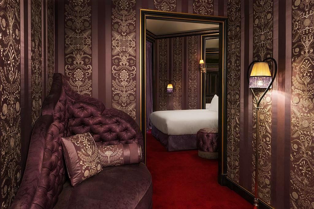 hotel privatif paris la maison souquet chambre couple