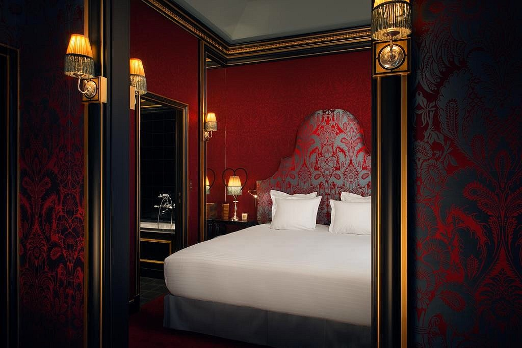 hotel privatif paris la maison souquet chambre spa