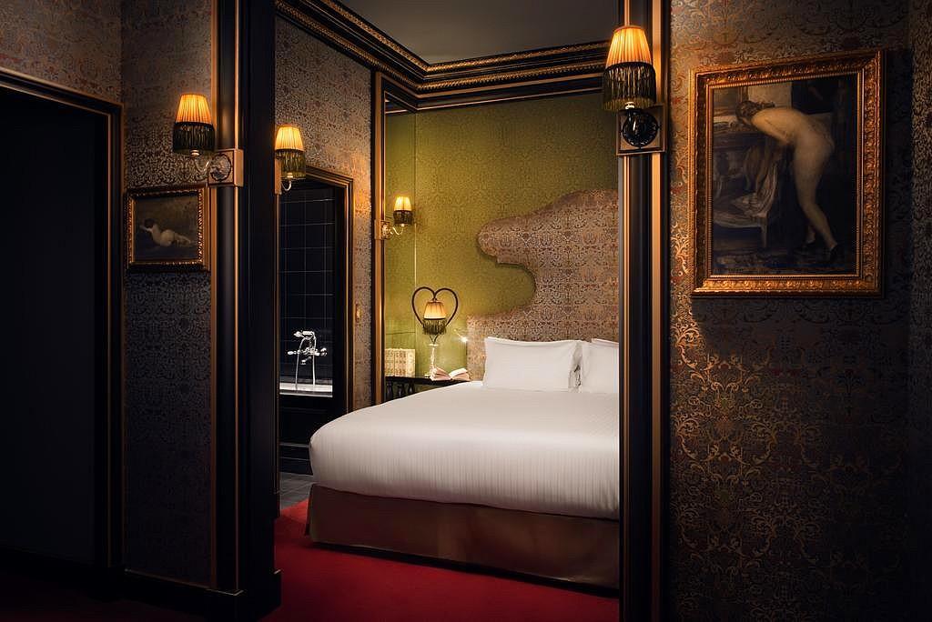 hotel privatif paris la maison souquet spa chambre