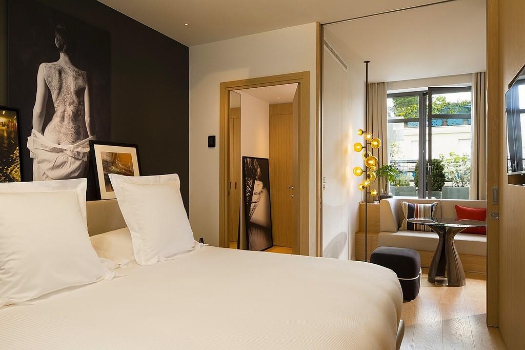 hotel privatif paris le cinq codet superieure chambre amoureuse