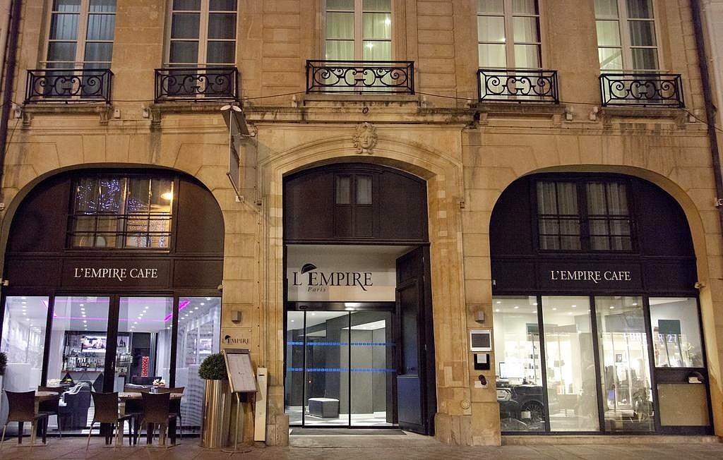 hotel privatif paris lempire paris proche tour eiffel