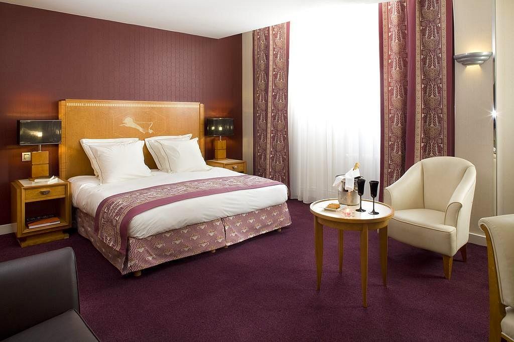 hotel privatif paris les jardins du marais chambre couple