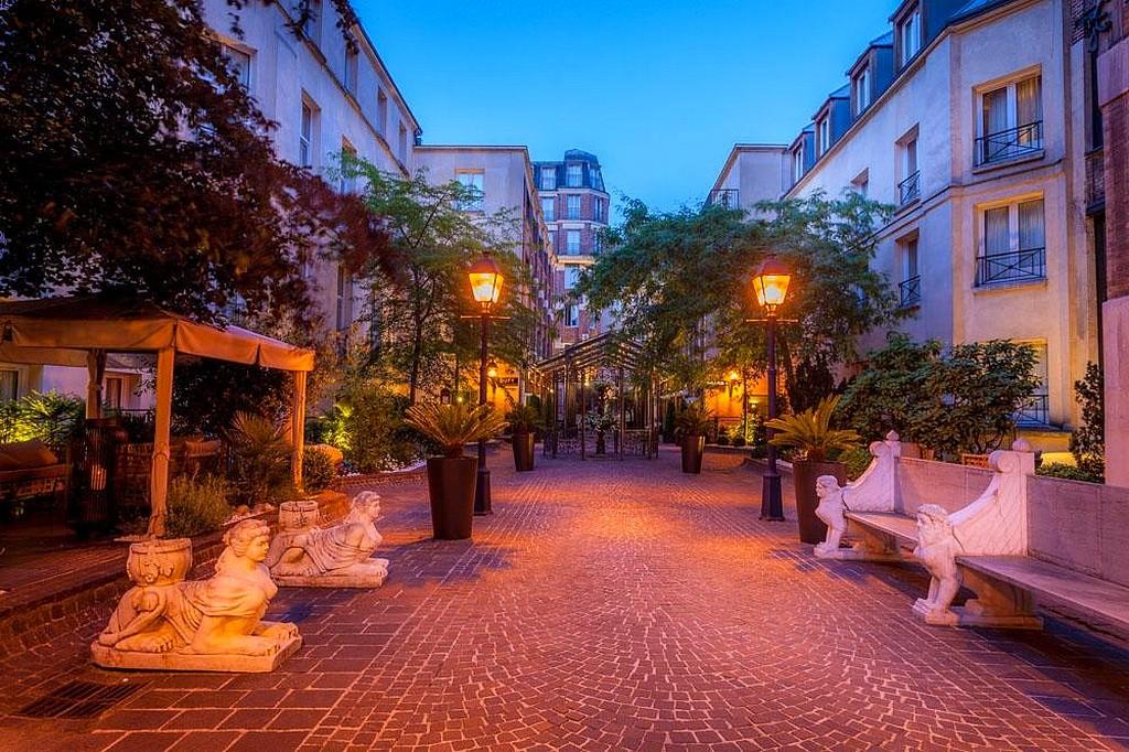 hotel privatif paris les jardins du marais jardin amoureux