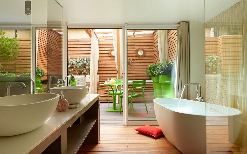 hotel privatif paris mathurin in hotel spa salle de bain
