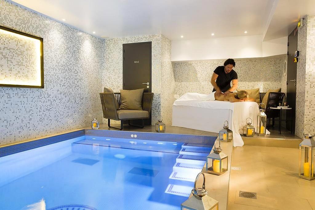 hotel privatif paris matins paris spa massage