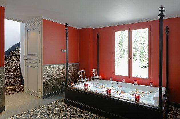 hotel privatif paris pavillon d'amour villa avec jacuzzi