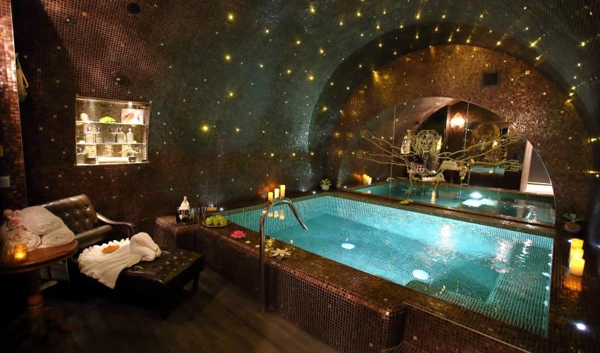 piscine privée paris da vinci spa