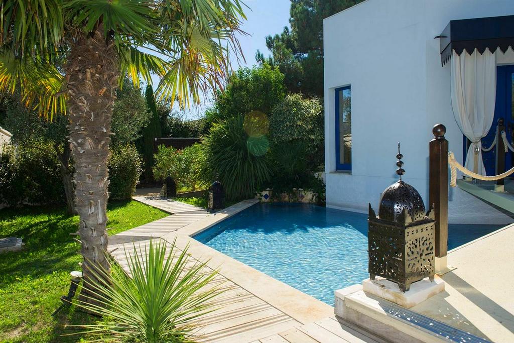 chambre hotel piscine privée marseille villa majorelle