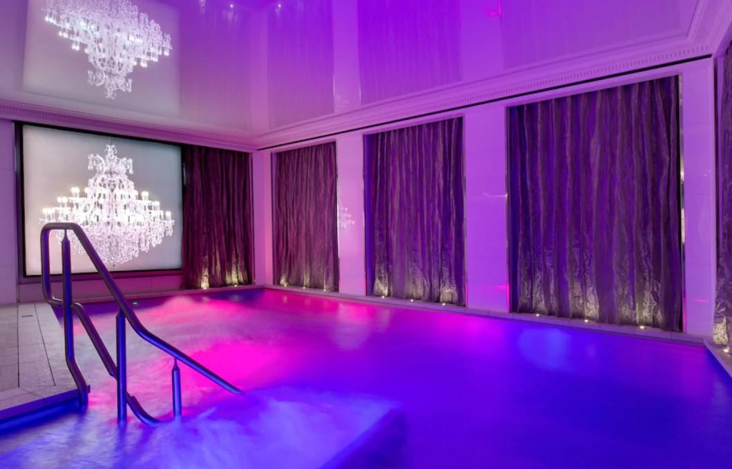 hotel piscine chauffée paris villa haussmann