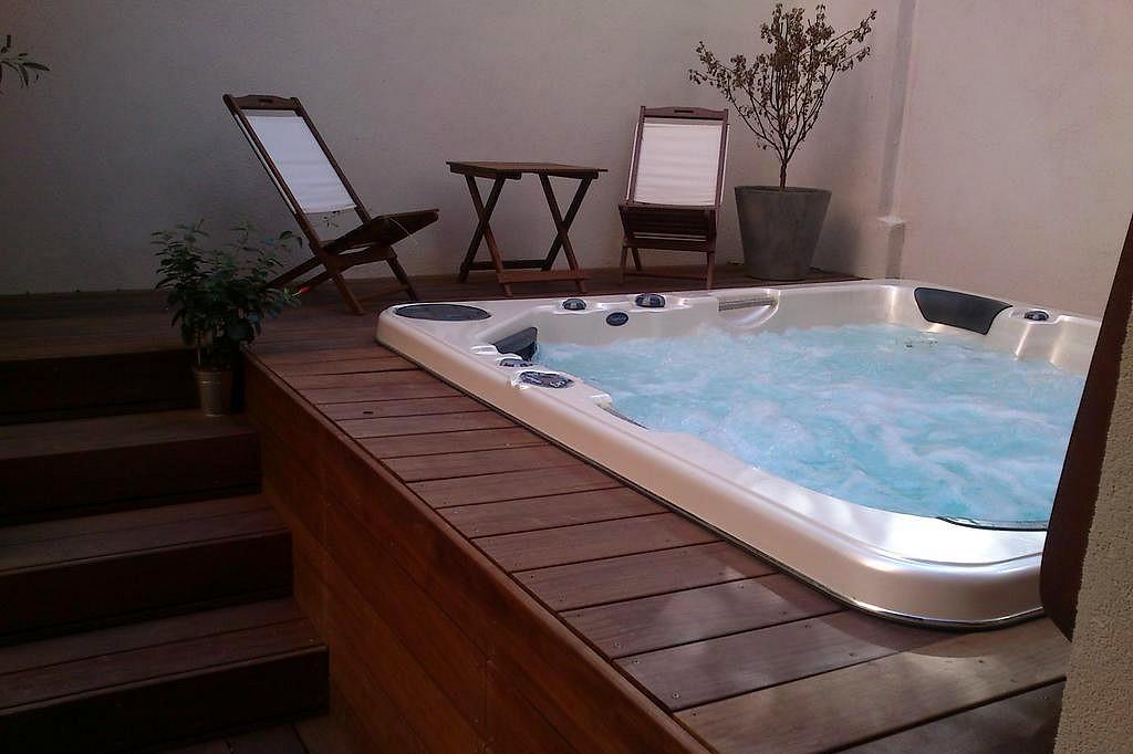 chambre d'hôte avec spa bain à remous lyon