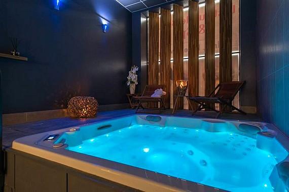hotel spa jacuzzi privatif lille les lavandieres de fontaines